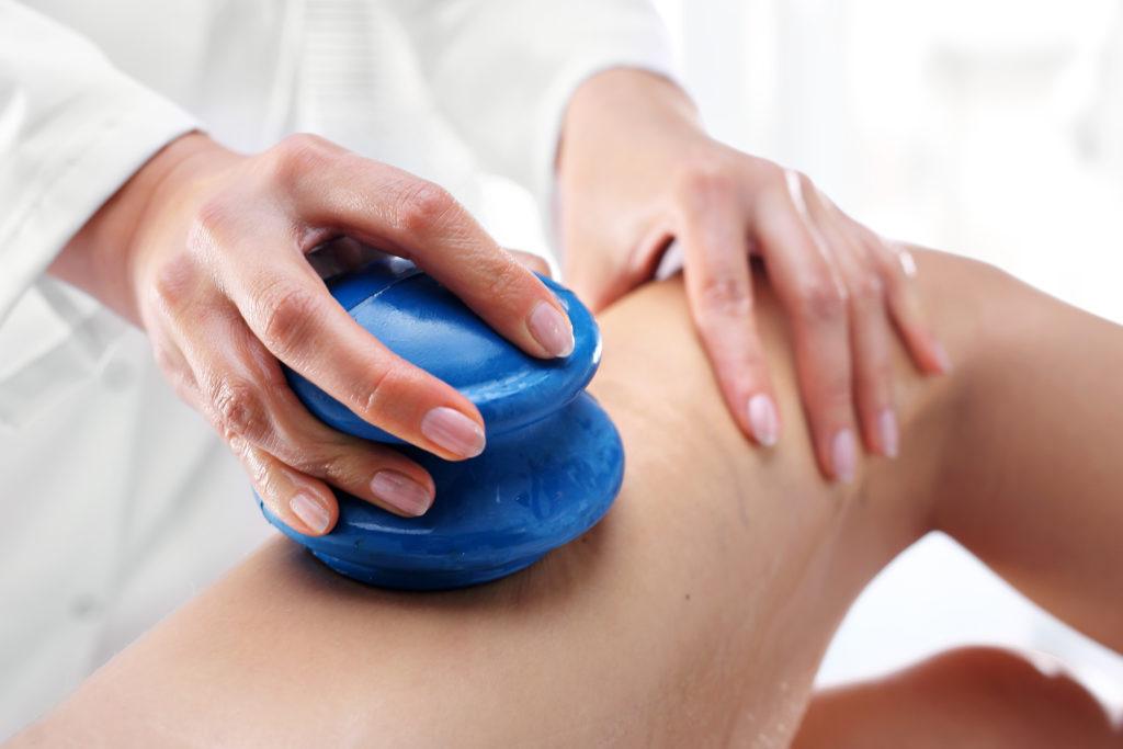 masaż bańką chińską